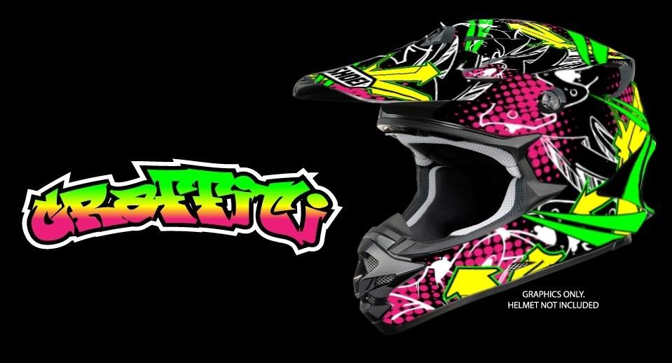 Helm Design split design helm dekor für verschiedene helme design graffiti mx