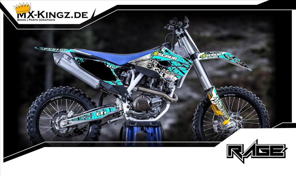 husqvarna dekore mx kingz motocross shop. Black Bedroom Furniture Sets. Home Design Ideas