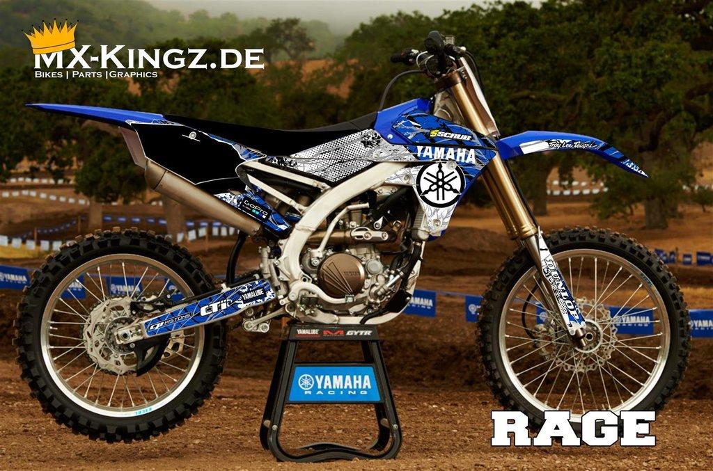 Yamaha dekor im rage design mx kingz motocross shop for Dekor shop