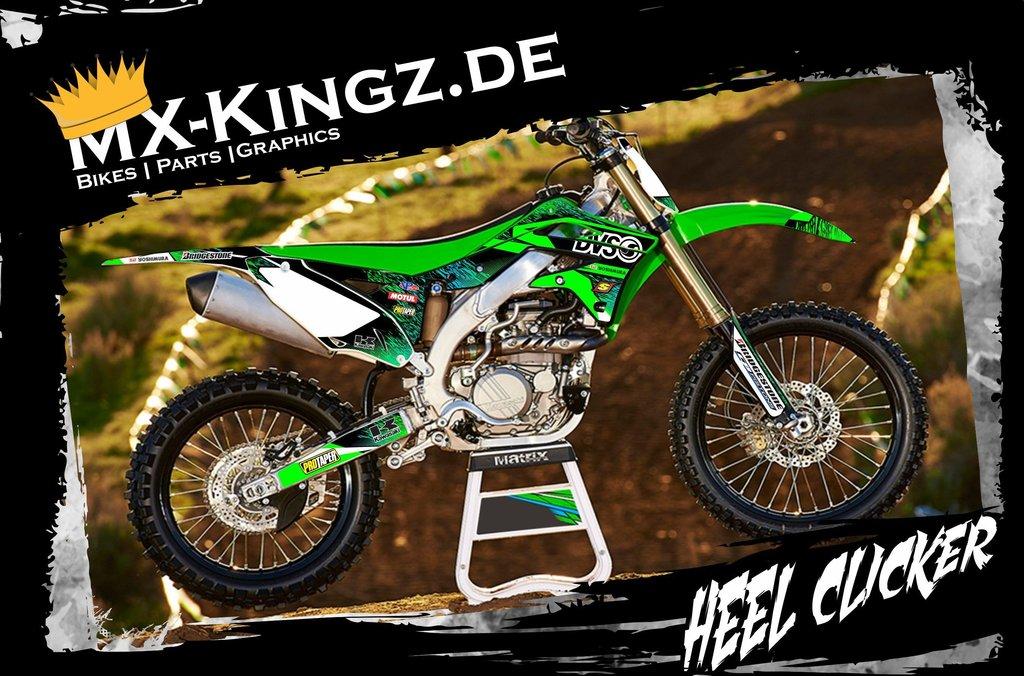 Kawasaki Dekor Im Heel Clicker Design Mx Kingz Motocross