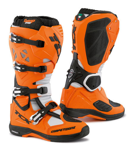 TCX Offroad MX Stiefel Comp Evo Michelin Orange/Schwarz