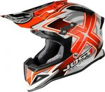JUST1 MX-Offroad Helm J12 - Design Mister X - rot/dekor