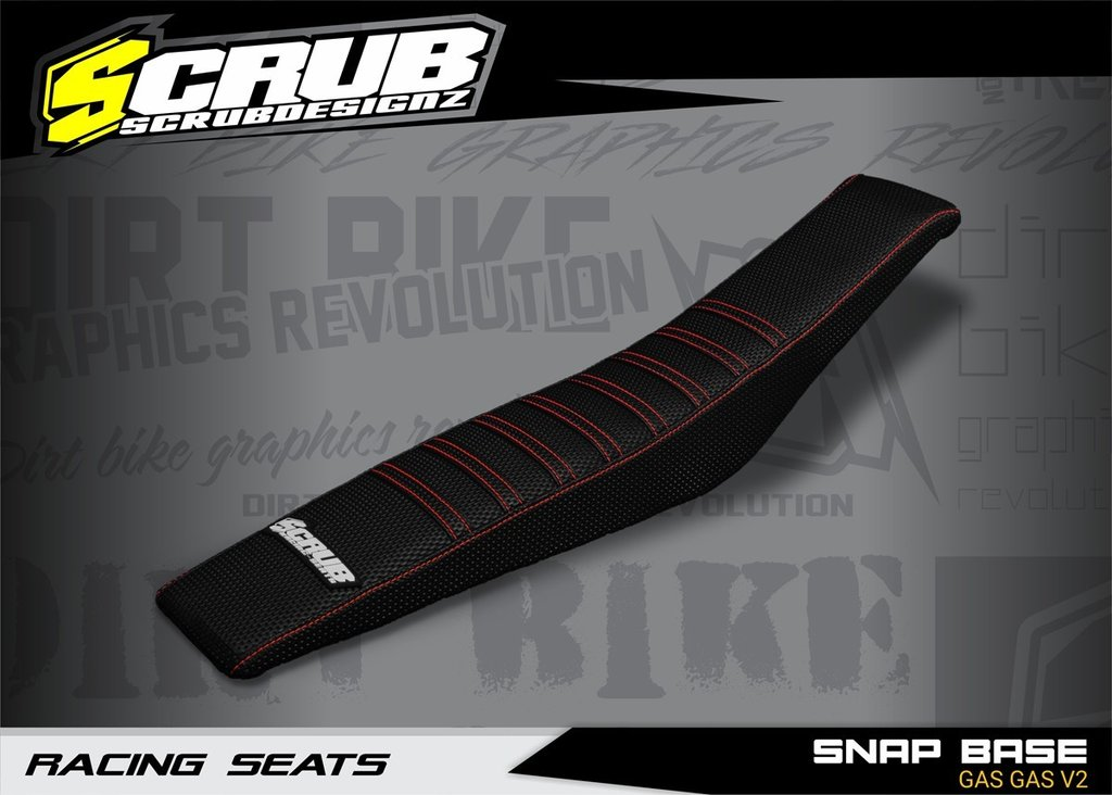 SNAP BASE GAS GAS V2 - SEAT COVER Black