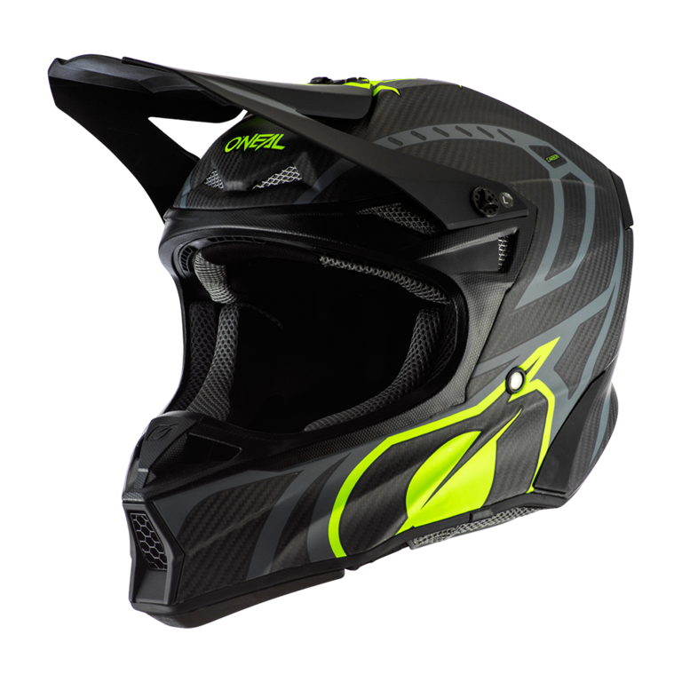 O`Neal 10SRS Carbon Helmet RACE black/neon yellow