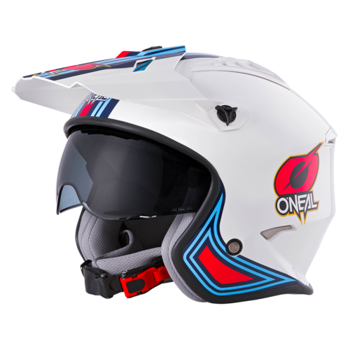 O`Neal VOLT Helmet MN1 white/red/blue