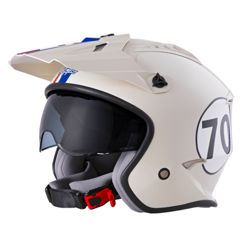 O`Neal VOLT Helmet HERBIE white/red/blue