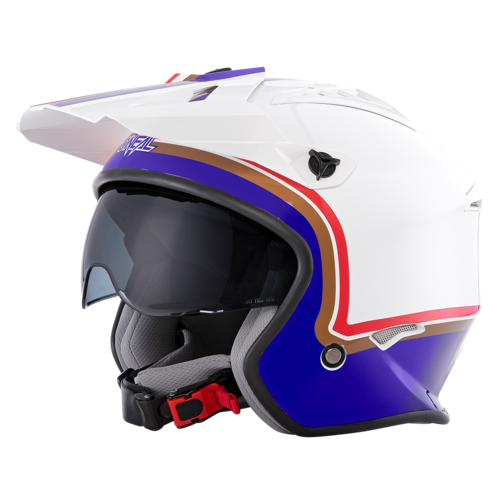 O`Neal VOLT Helmet ROTHMANS white/purple/red