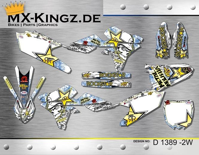 """Yamaha Dekor YZF 250-450 """"2014"""" Design: D 1384-3B"""